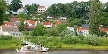 Pirna which includes a river or creek