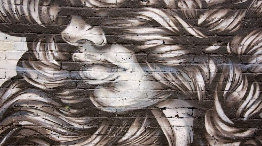 Friedrichshain mostrando arte y arte al aire libre