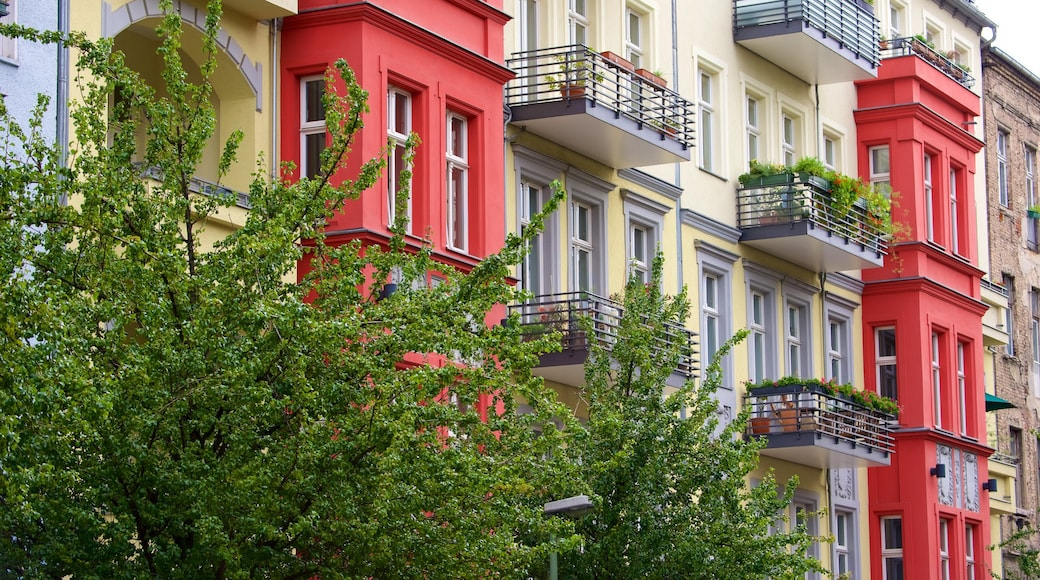 Prenzlauer Berg which includes a city