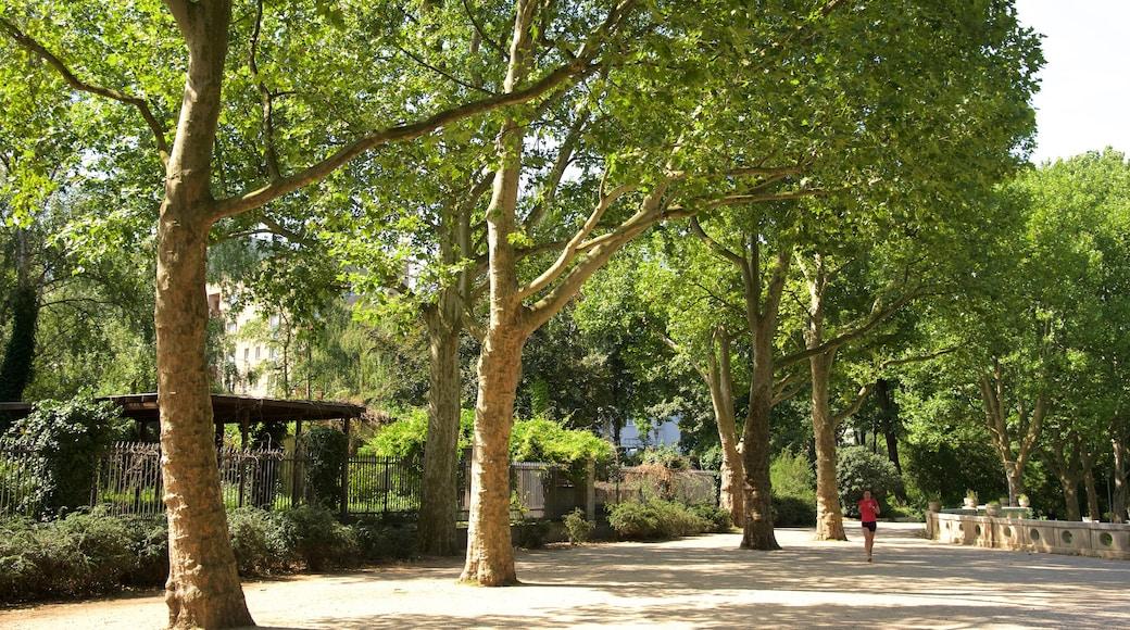 Schöneberg mit einem Park
