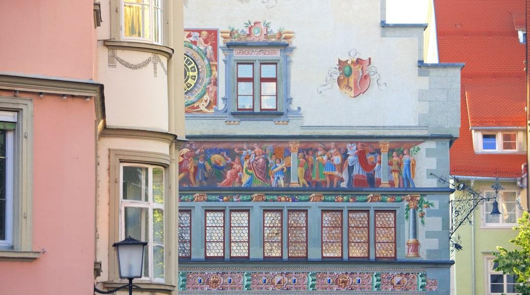 Lindau welches beinhaltet Kleinstadt oder Dorf und Kunst