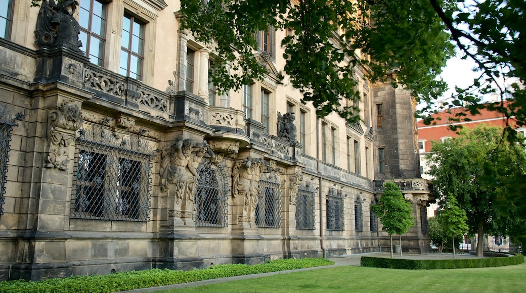 Residenzschloss Dresden das einen Geschichtliches