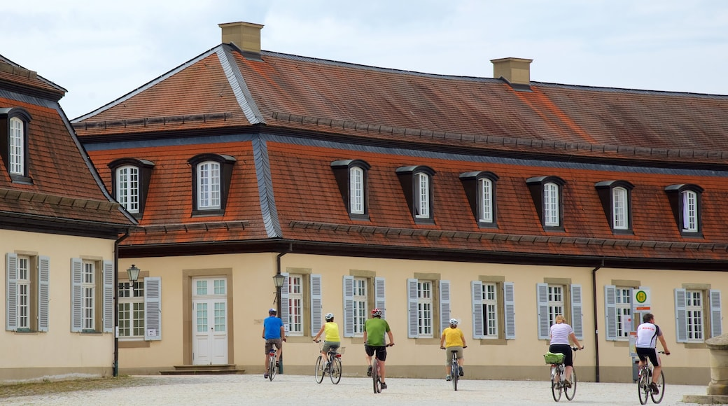 Solitude Palace which includes a square or plaza and cycling