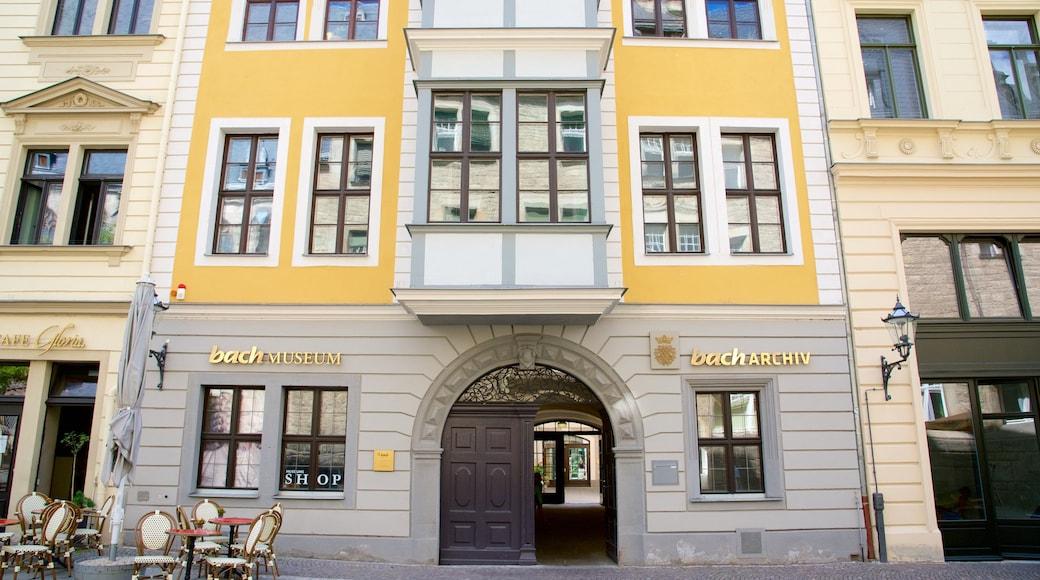 Bach-Museum mit einem Stadt
