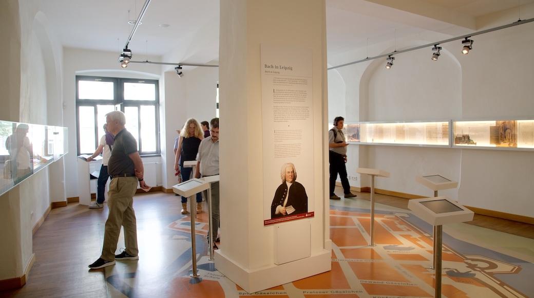 Bach-Museum welches beinhaltet Innenansichten