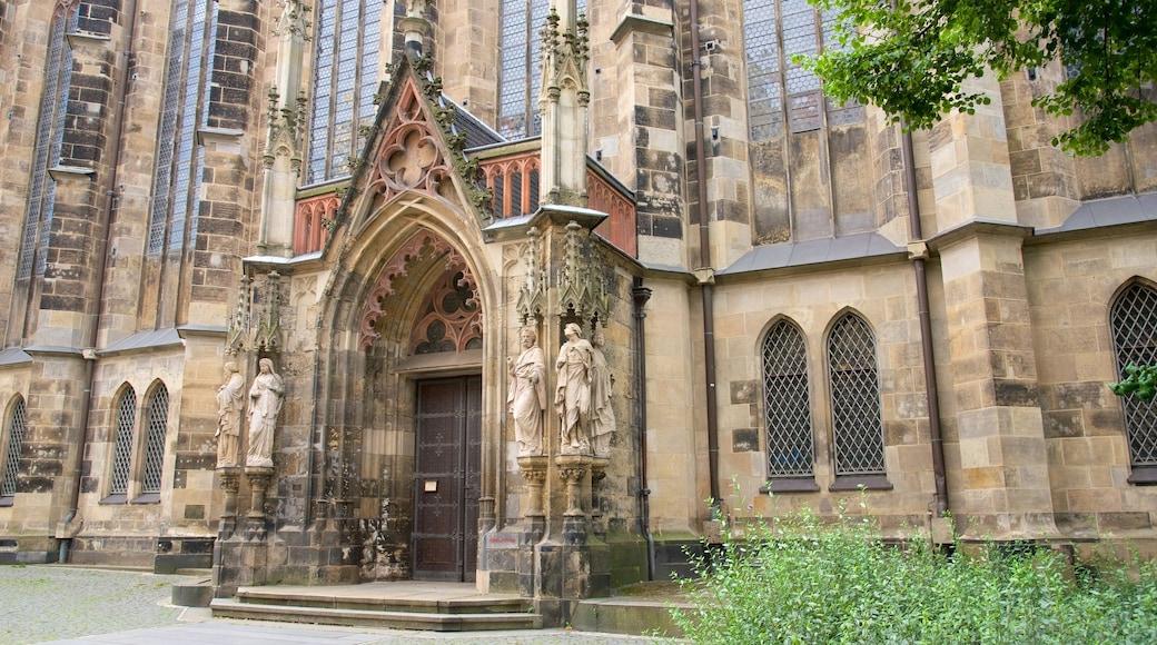 Thomaskirche das einen historische Architektur