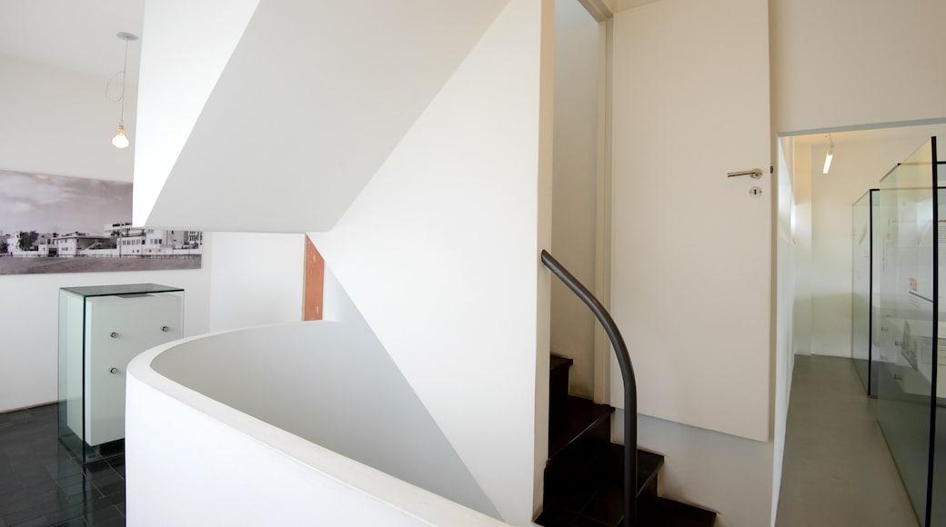 Weissenhof Museum das einen Innenansichten