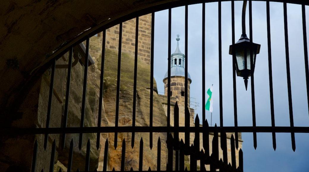 Festung Königstein welches beinhaltet Geschichtliches