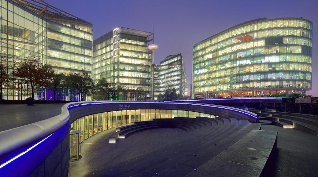 Southwark presenterar modern arkitektur och nattliv
