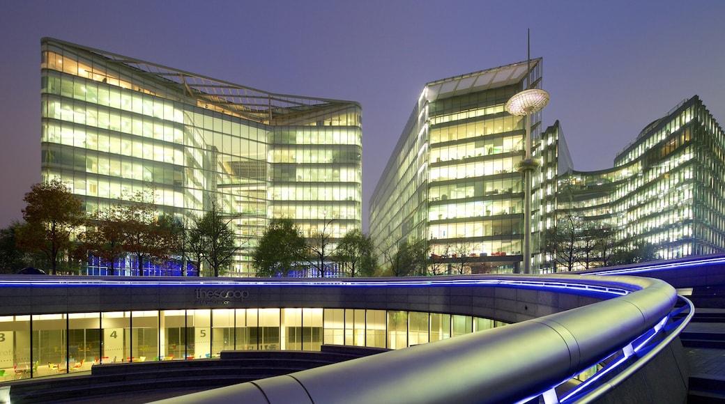 Southwark som inkluderar nattliv och modern arkitektur