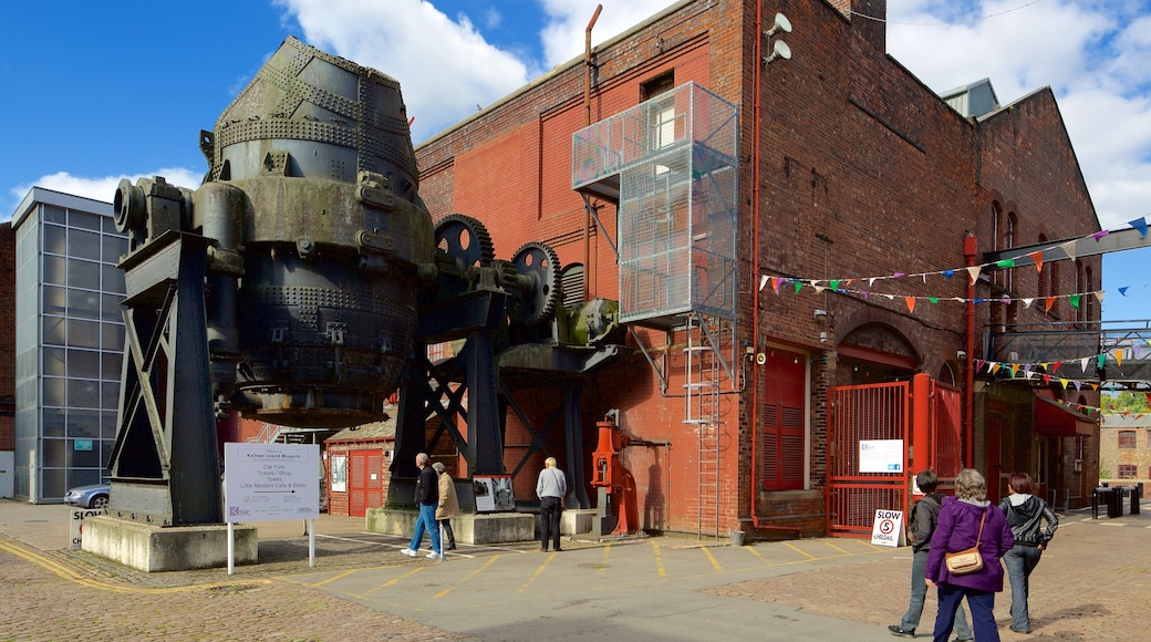 Kelham Island Museum as well as a small group of people