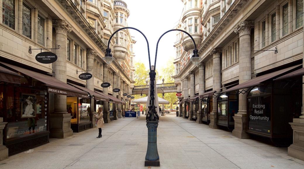 布隆伯利 呈现出 廣場, 指示牌 和 歷史建築
