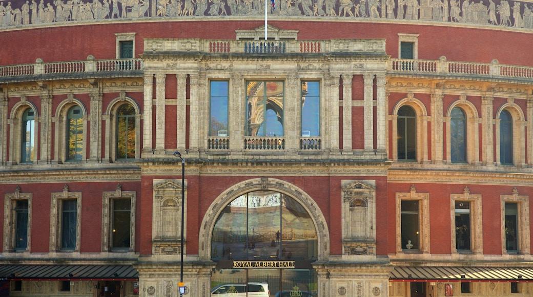Royal Albert Hall das einen Theater und historische Architektur