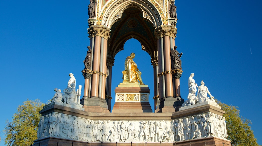Albert Memorial which includes a statue or sculpture