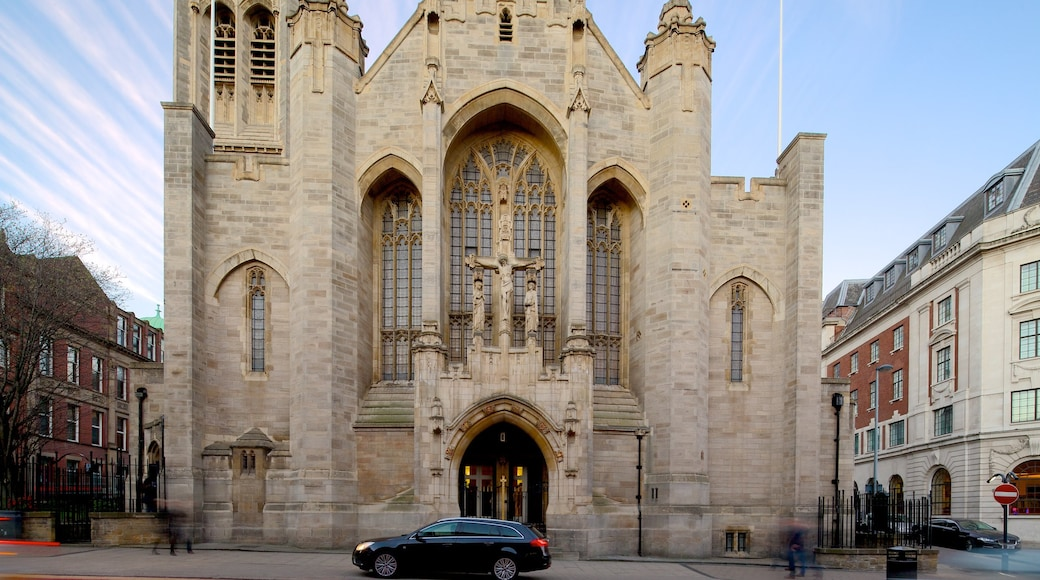 St. Anne\'s Roman Catholic Cathedral showing a church or cathedral and heritage architecture