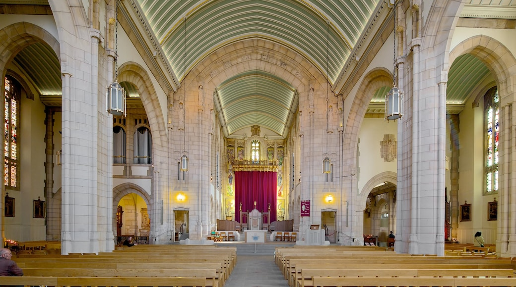 St. Anne\'s Roman Catholic Cathedral showing a church or cathedral, religious aspects and interior views