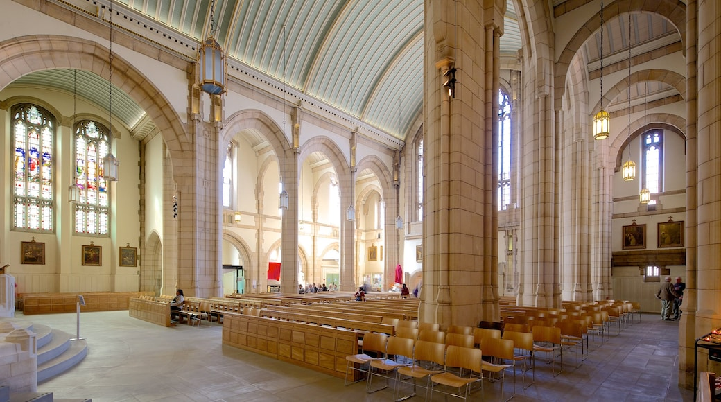 St. Anne\'s Roman Catholic Cathedral which includes religious elements, a church or cathedral and interior views