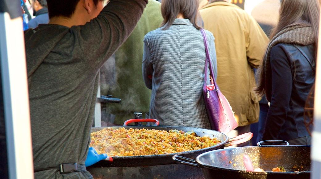 London presenterar mat och marknader