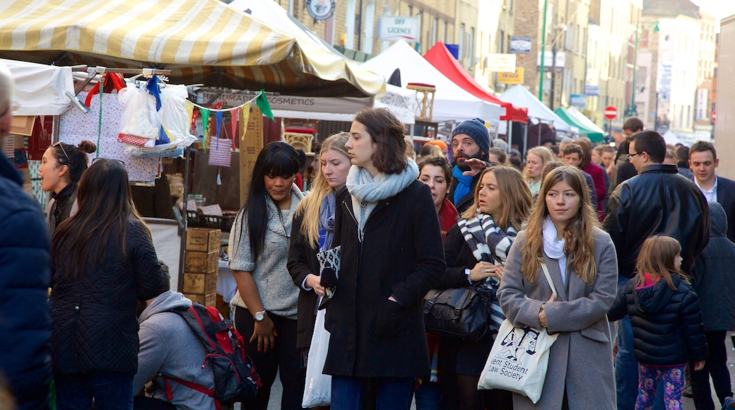 London presenterar gatuliv, marknader och shopping