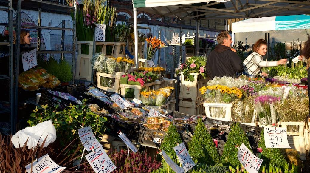 London presenterar shopping, marknader och blommor