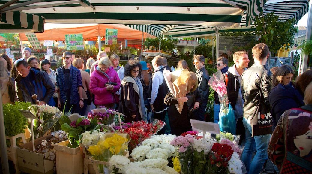 London presenterar marknader, blommor och shopping