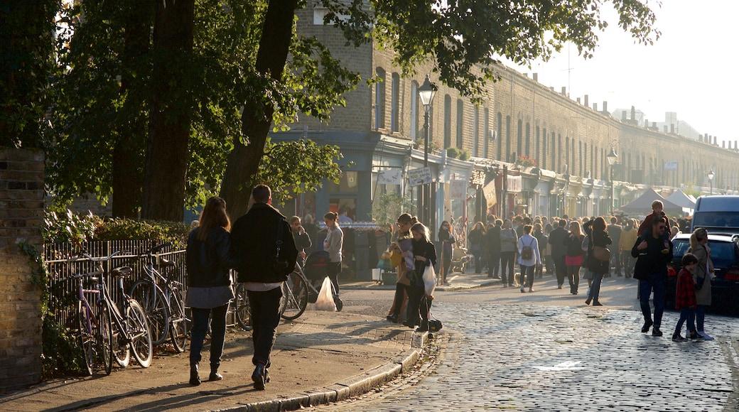 London presenterar marknader och gatuliv