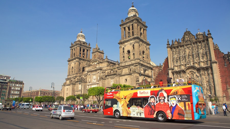 Metropolitan Cathedral which includes heritage architecture and a city