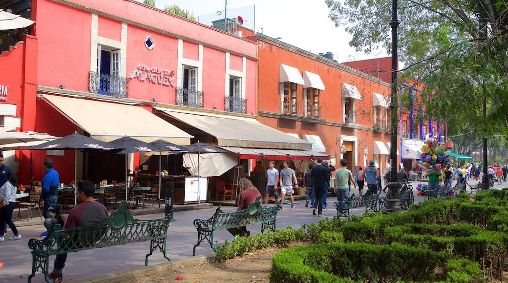 Coyoacán mettant en vedette ville et parc