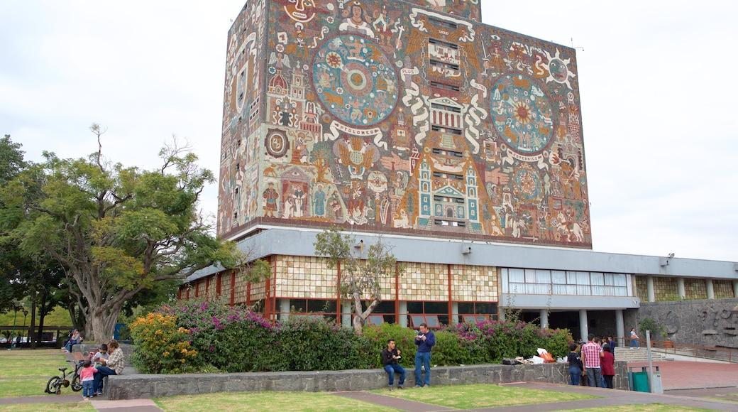 National Autonomous University of Mexico showing a park