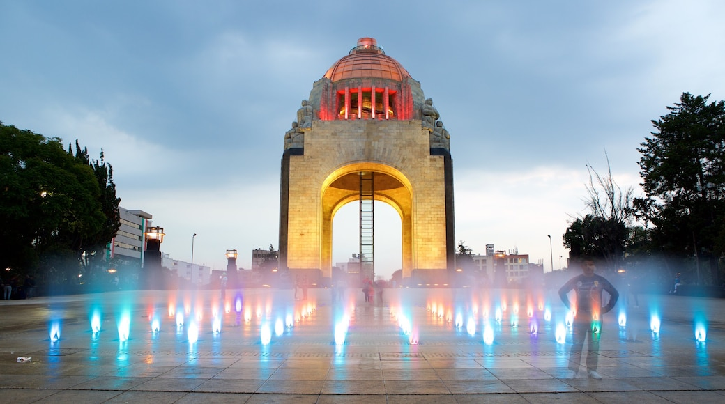 Monument to the Revolution which includes a monument, a square or plaza and heritage elements