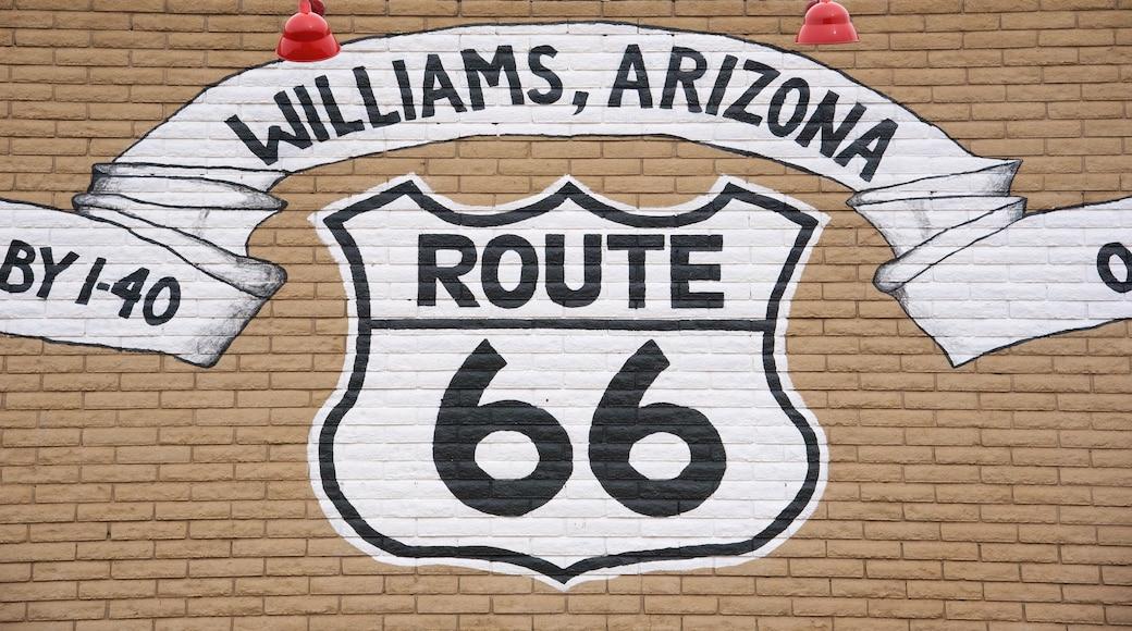Williams featuring signage