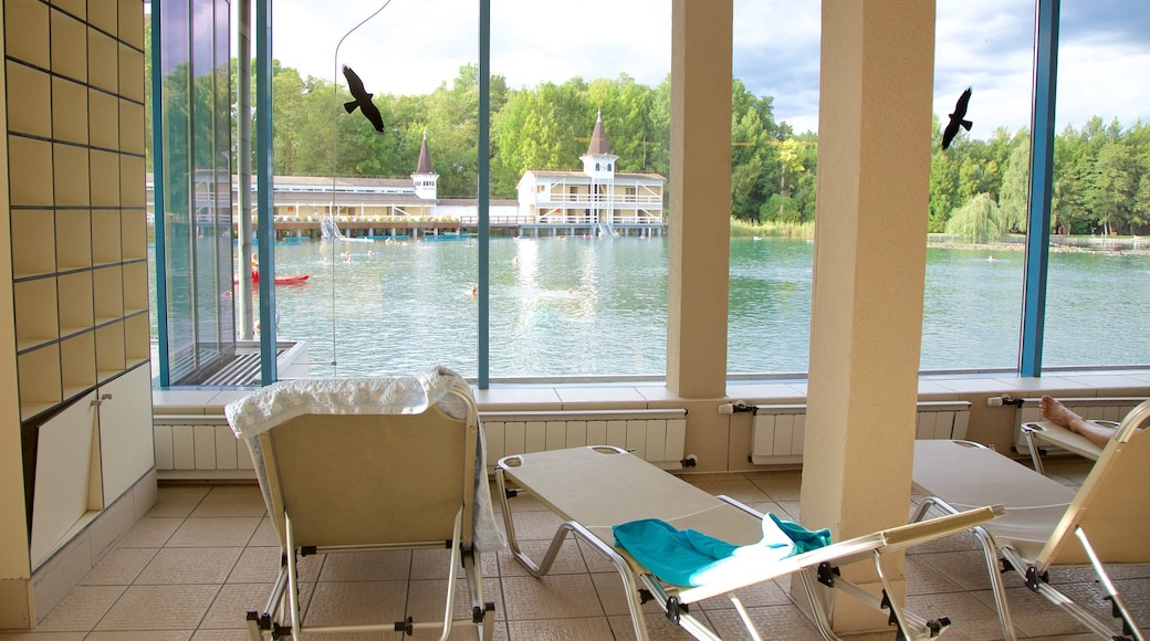 Lake Heviz welches beinhaltet Luxushotel oder Resort