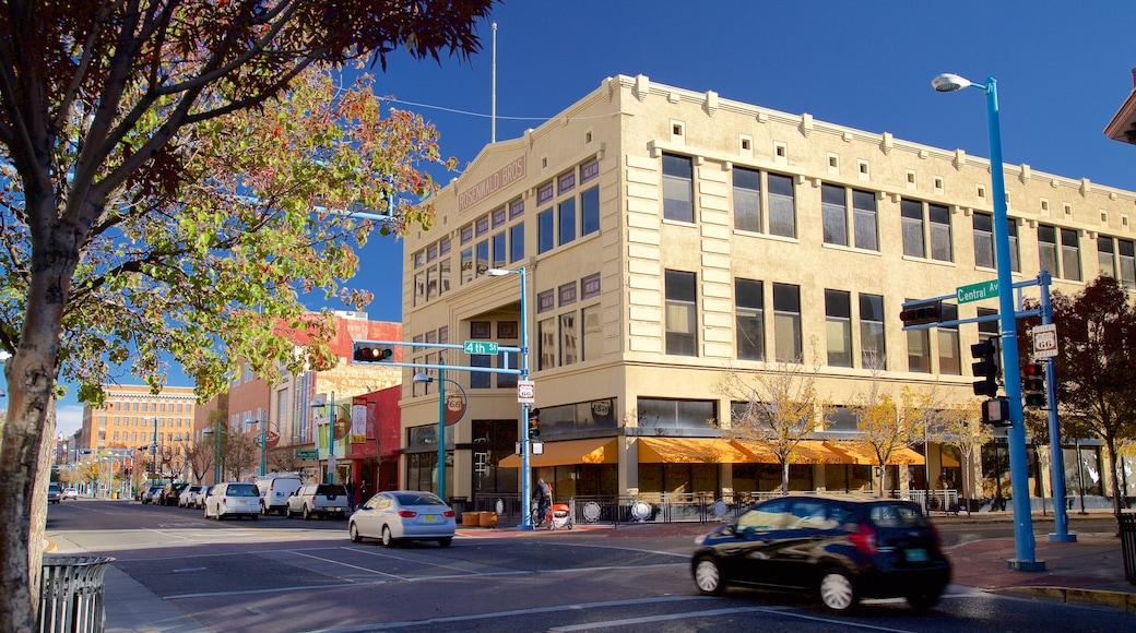 Albuquerque featuring street scenes