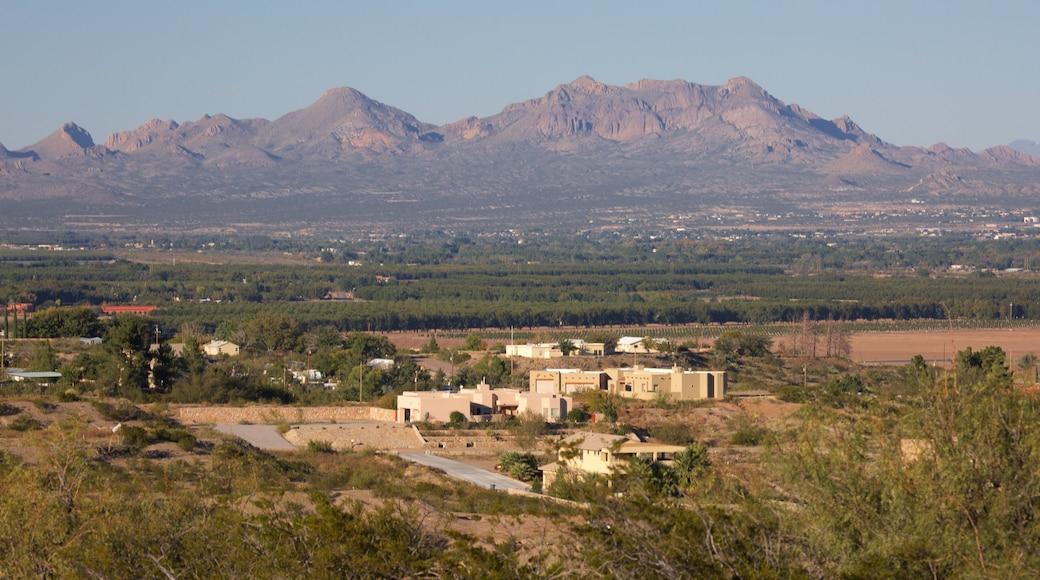 Las Cruces ofreciendo vistas de paisajes y tierras de cultivo