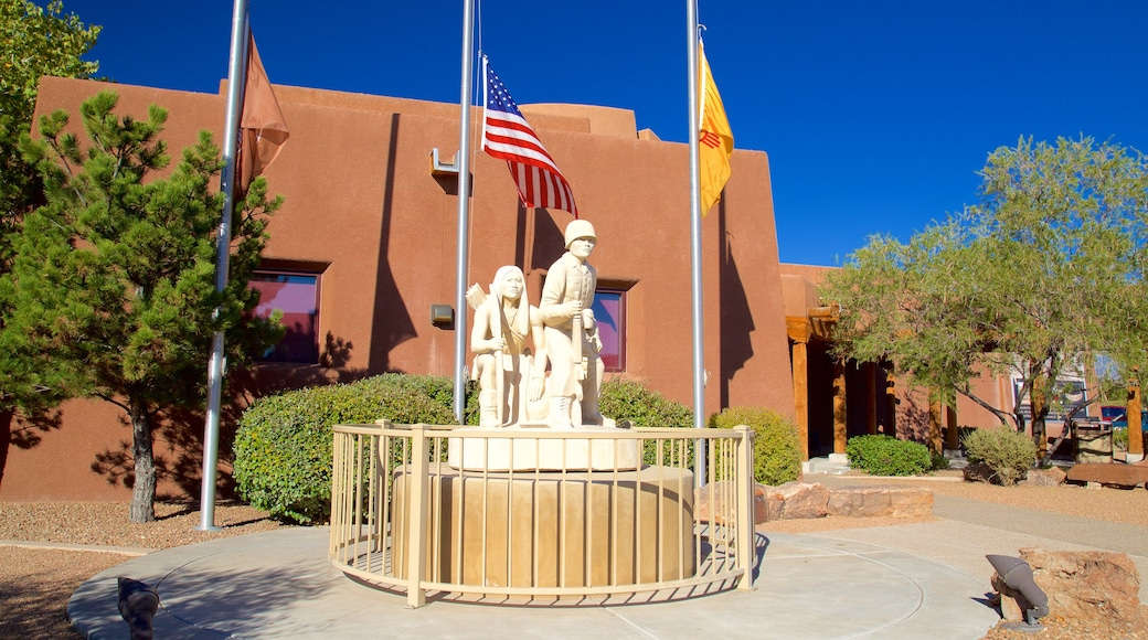 Indian Pueblo Cultural Center featuring outdoor art