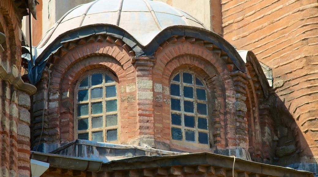 Igreja Chora mostrando elementos de patrimônio