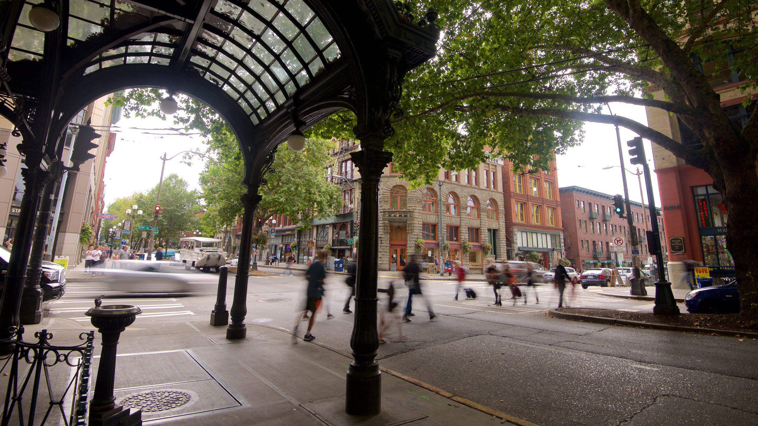 Pioneer Square, Seattle, Washington, United States of America