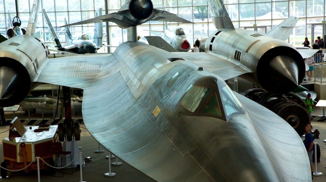Museum of Flight showing interior views
