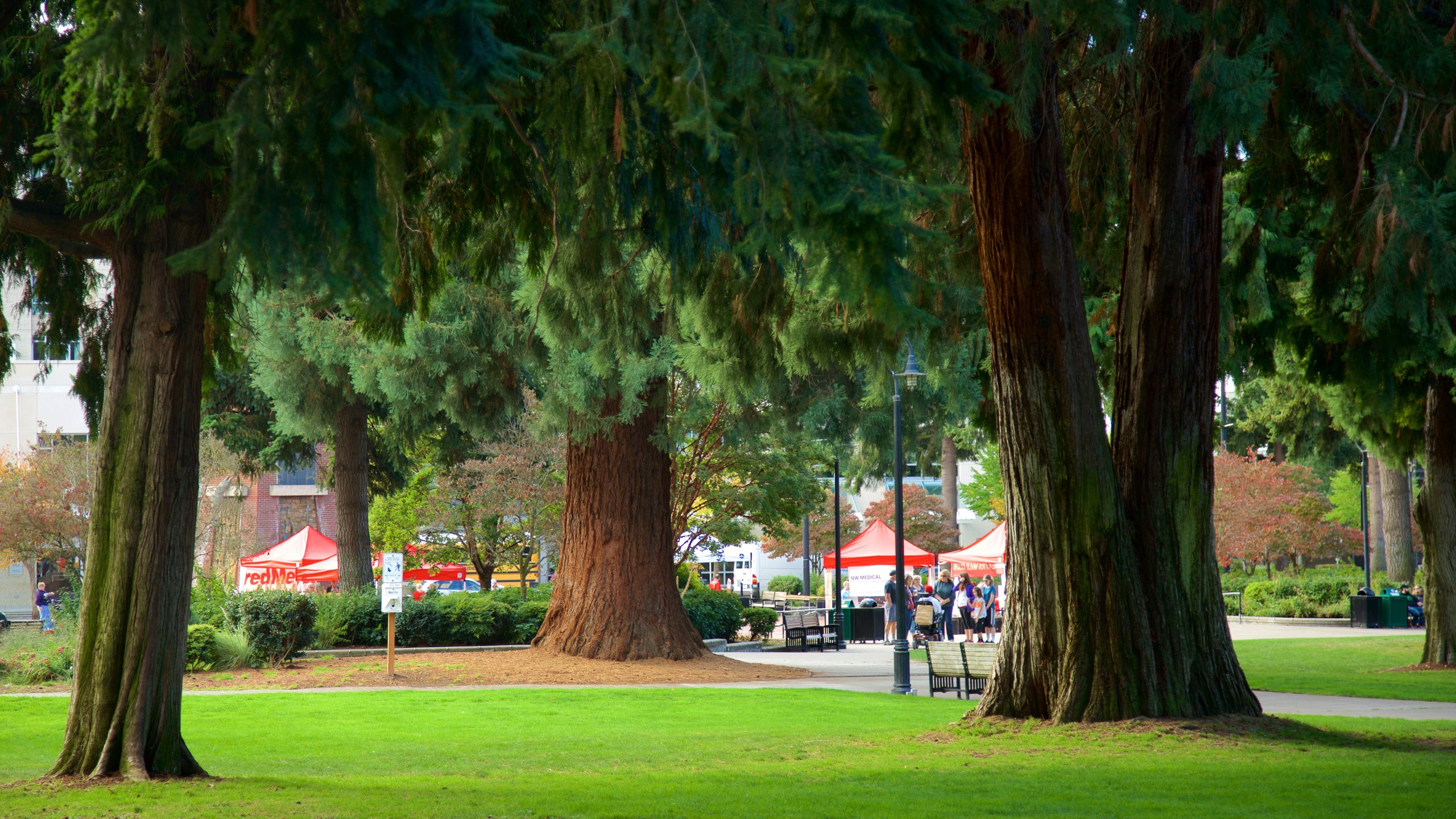 Esther Short Park, Downtown Vancouver, Washington, United States of America