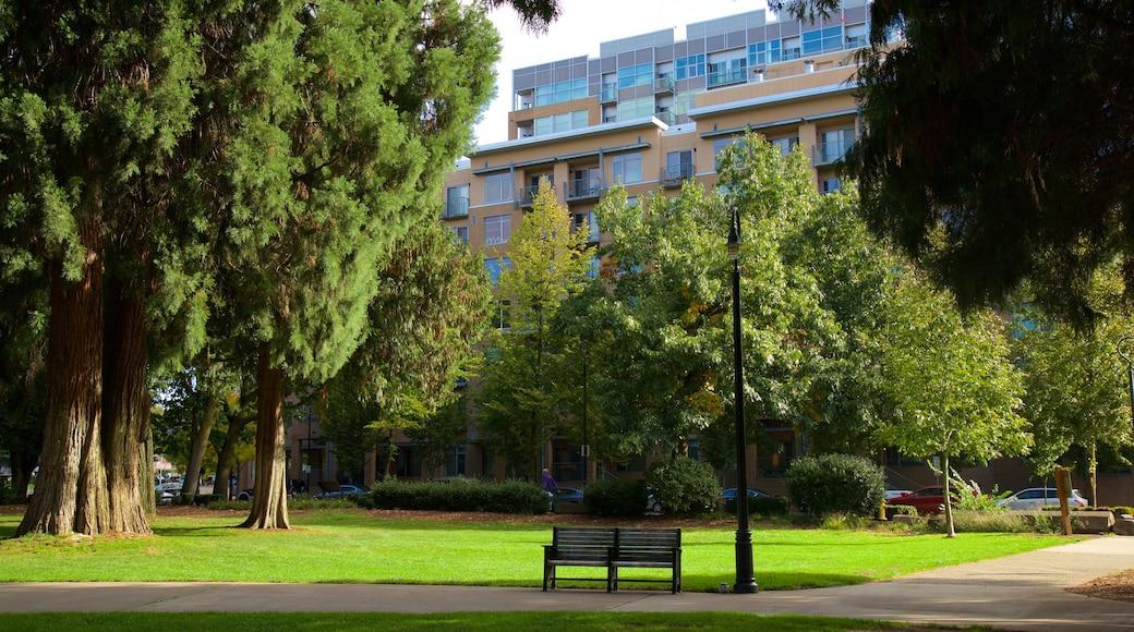 Esther Short Park which includes a park