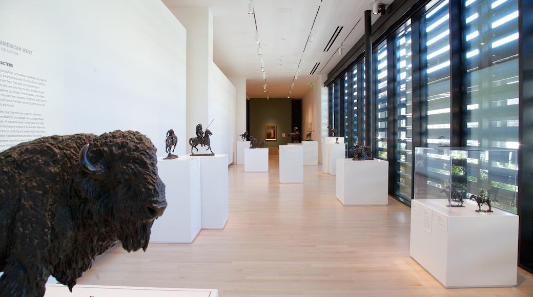Tacoma Art Museum showing interior views