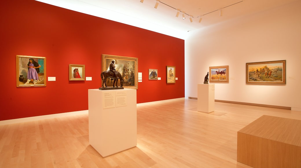 Tacoma Art Museum which includes art and interior views