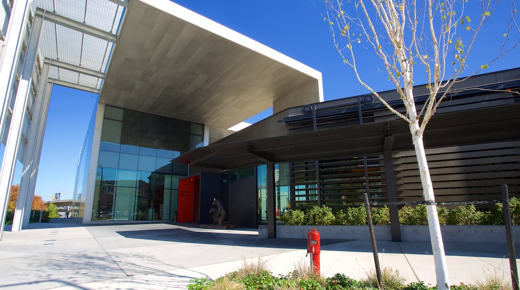 Tacoma Art Museum featuring modern architecture