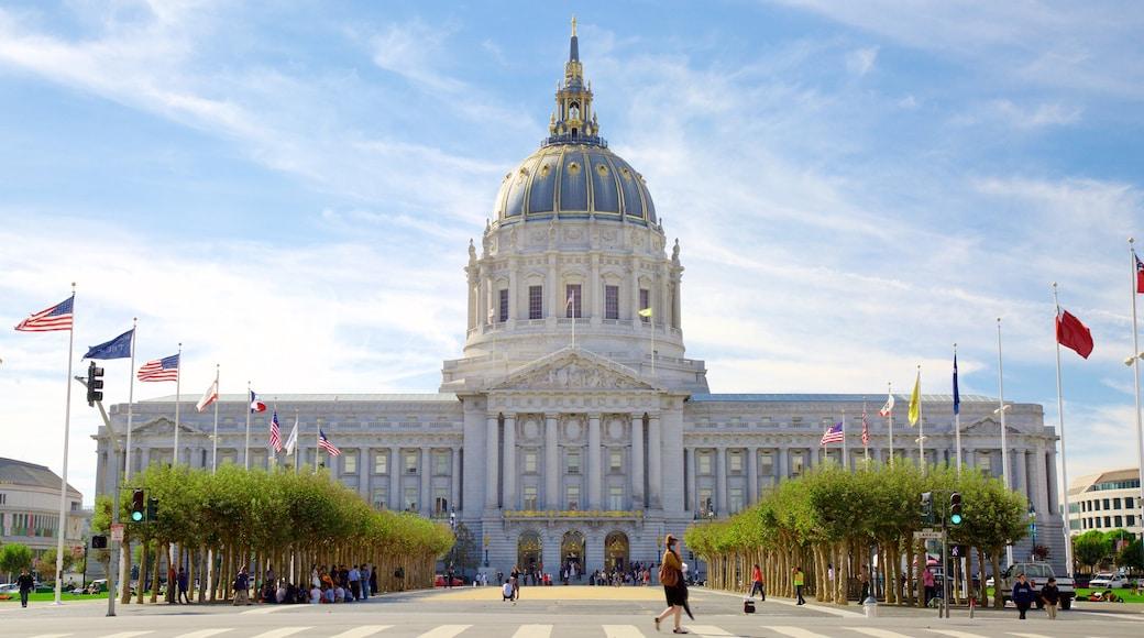 São Francisco mostrando arquitetura de patrimônio e uma cidade