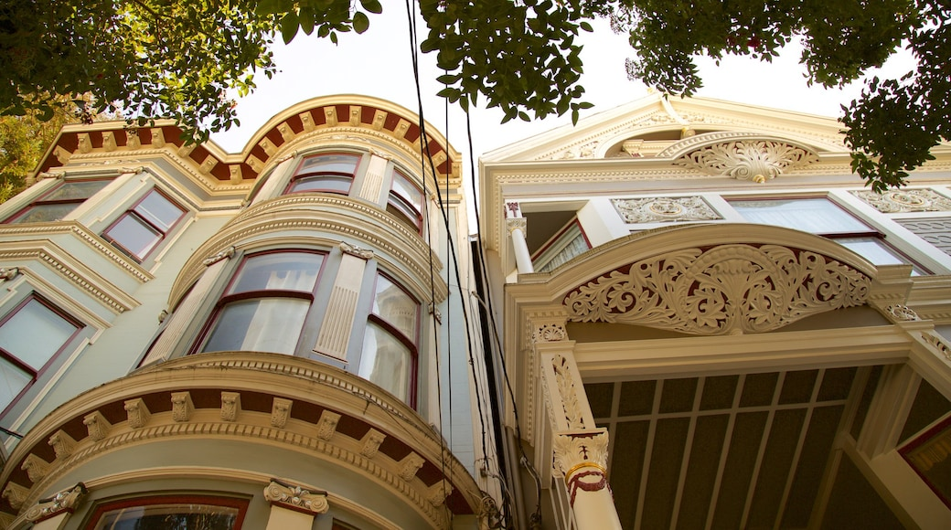Haight-Ashbury featuring a house and heritage architecture