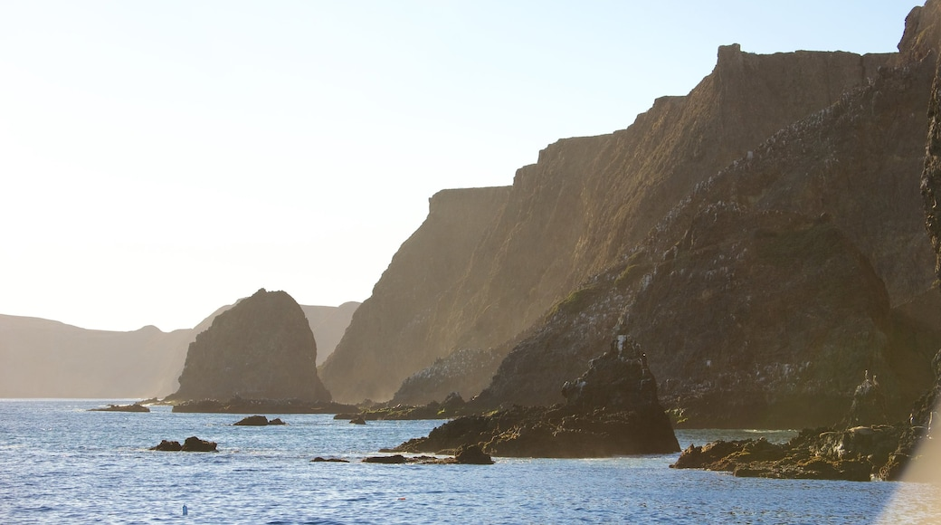 Channel Islands National Park which includes rocky coastline and general coastal views