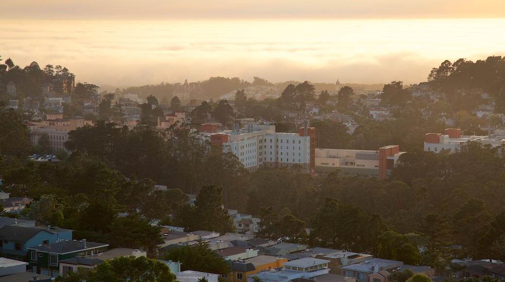 Twin Peaks das einen Sonnenuntergang