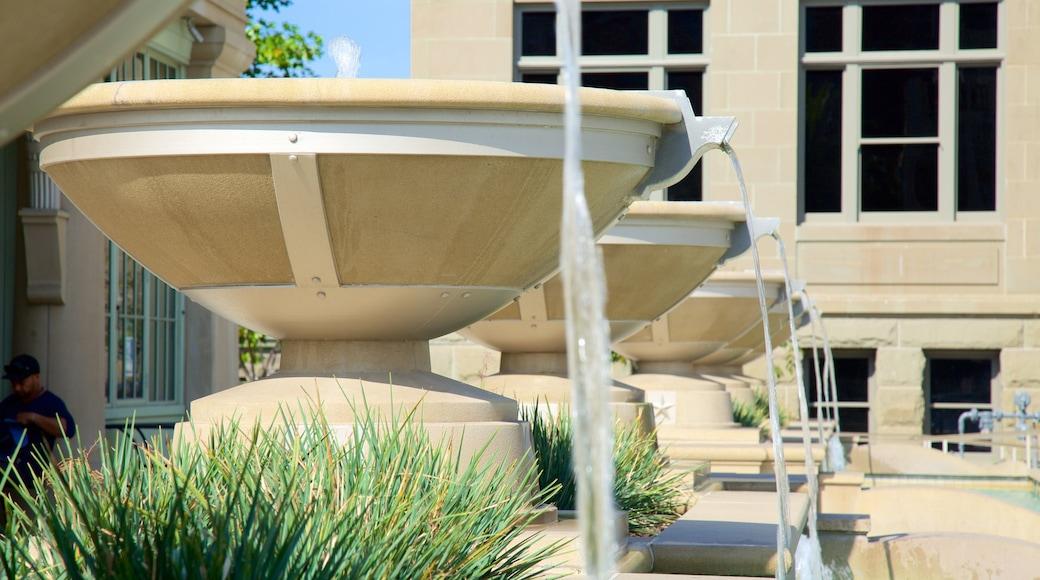 Redwood City welches beinhaltet Springbrunnen