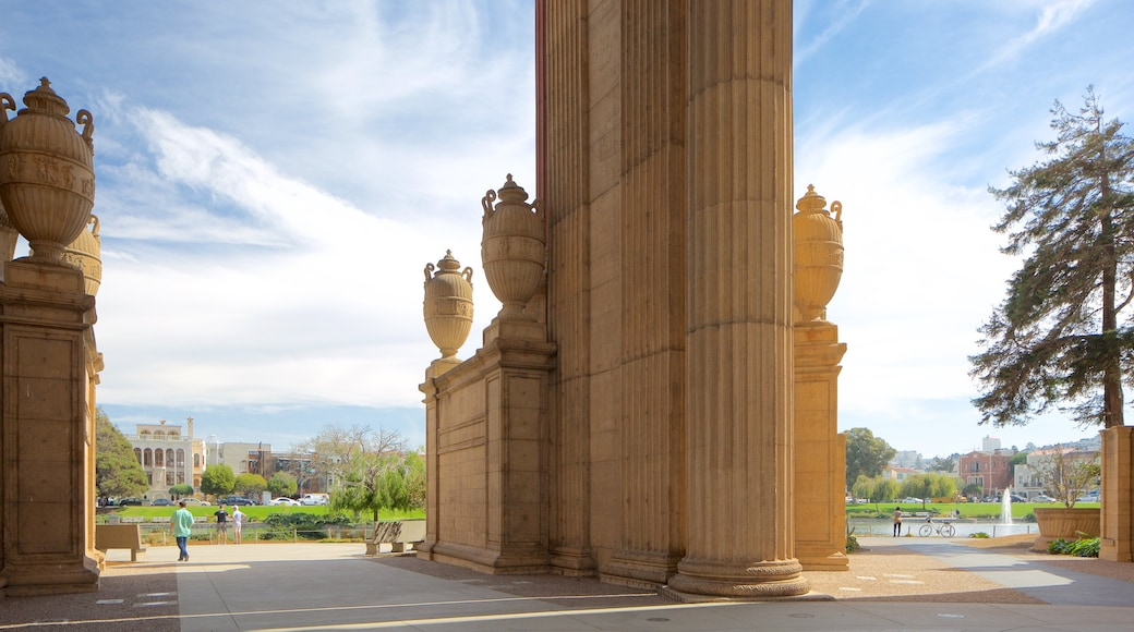 Marina District mit einem historische Architektur