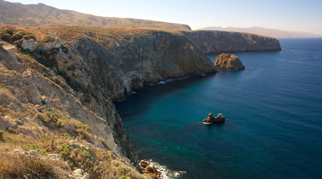 Channel Islands National Park which includes a river or creek and mountains